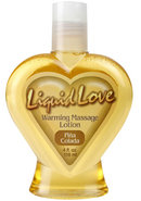 Liquid Love Warming Massage Lotion Pina...