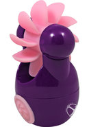 Sqweel Go Rechargeable Oral Sex Massager Purple