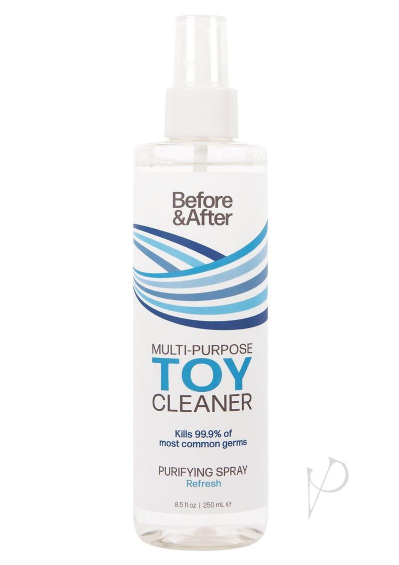 Before And After Adult Toy Cleaner Spray 8 Ounce